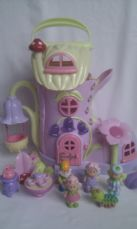 Adorable Big ELC 'Happyland Bluebell Fairies Boot' & lots of Figures